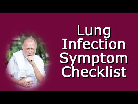 Lung Infection Symptom Checklist