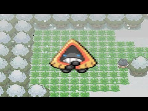 How to find Snorunt in Pokemon Diamond and Pearl
