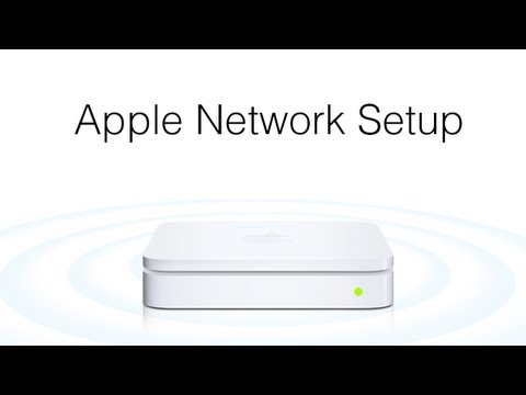 Apple Airport Network Setup
