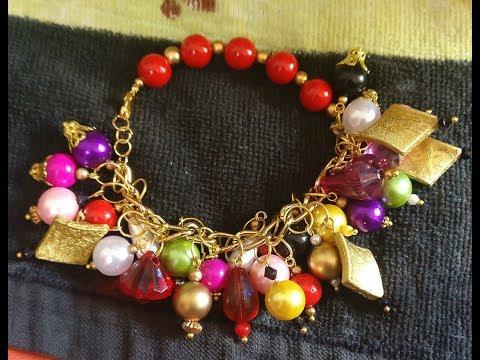 Charm Bracelet | How to make Charm beaded Bracelet | Charm bracelets for women | Fairy tale Bracelet