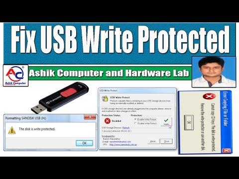 How to Repair USB Write Protected Problem   Bangla   मरम्मत यूएसबी लिखें संरक्षित समस्या