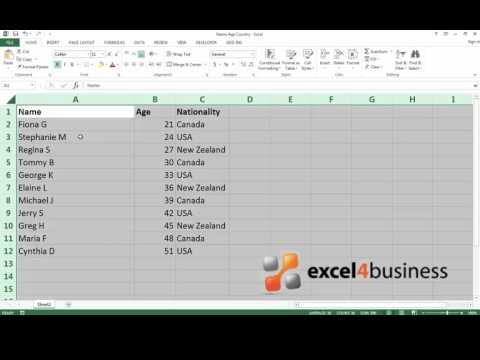 How to Lock a Cell in Excel 2013