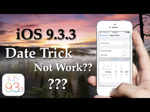 iOS 9.3.3 Date Trick Not Work?? Find Out In This Video!!