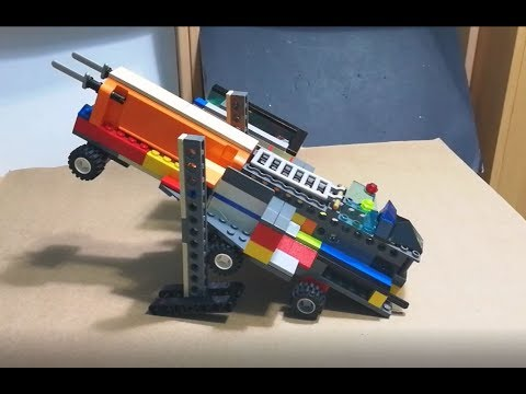 DIY Working Lego Missile Launcher Vehicle that Shoots Lego Missiles