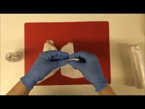 How to make a bow using gum paste(flower paste)