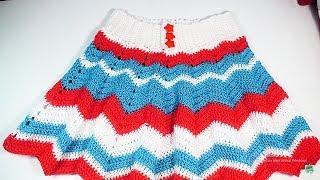 bc2ff2f60 VESTIDO tejido al crochet para dama Parte 2/3