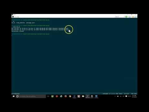 Querying MySQL from NodeJS Tutorial/Example