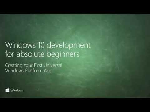 UWP 002 | Creating your First Universal Windows Platform App