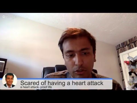 Scared of having a heart attack? Here's what to do about it