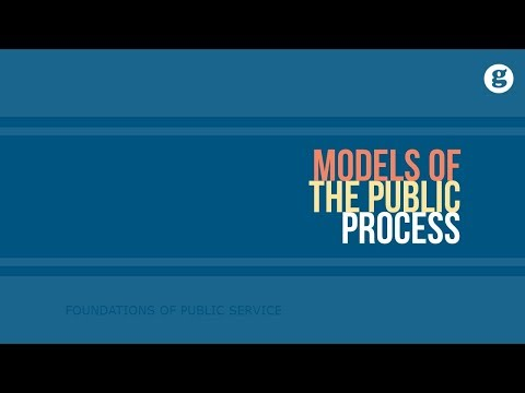 Models of the Public Policy Process