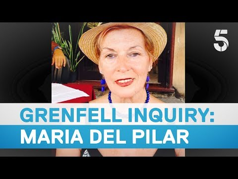 Maria del Pilar remembered at Grenfell Inquiry - 5 News