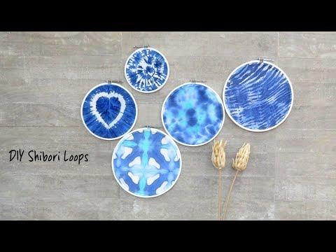 DIY Shibori Loops | Hobby Ideas India