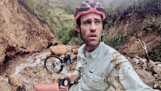 I FELL OFF A CLIFF (30m/100ft) with my touring bike // CyclingAbout The Americas [EP.9]