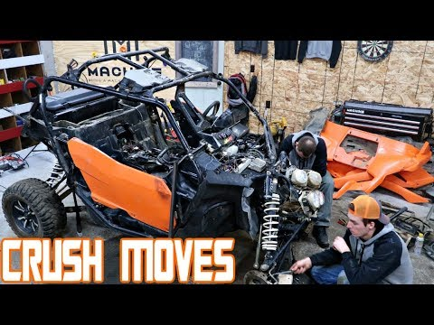 CRUSH MOVES!!! TOTALED YXZ 1000 LIVES