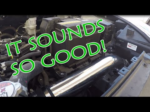 DIY COLD AIR INTAKE ON A BUDGET!