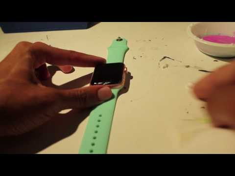 Getting Rid of Scratches on Your Apple Watch Screen (Toothpaste & Baking Soda)