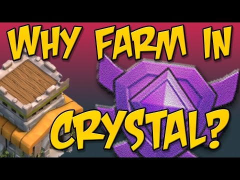Clash of Clans: Epic Townhall 8 Dark Elixir Farming - It's Crystal League!