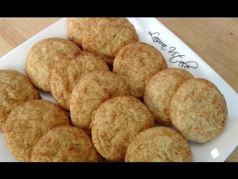 How to Make Snickerdoodles - Cookie Recipe by Laura Vitale Laura in the Kitchen Ep 107