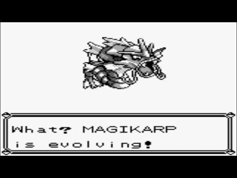 Pokémon Red and Blue - Magikarp Evolves into Gyarados (Part 98)
