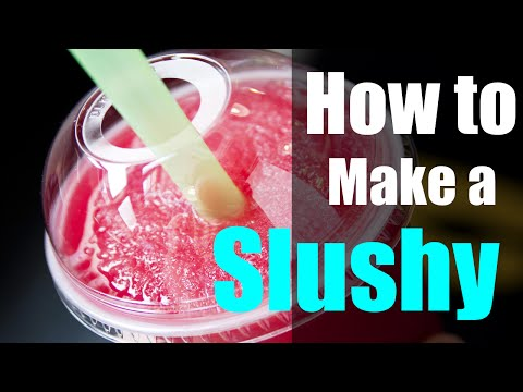 How to Make an Instant Slushy