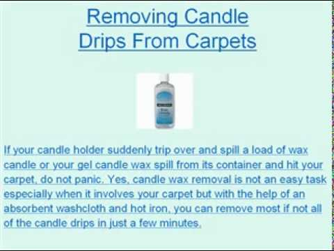 What You Need To Know About Candle Wax Removal