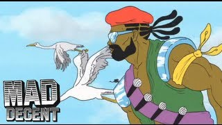 Major Lazer - 'Get Free' Feat. Amber (of Dirty Projectors) OFFICIAL LYRIC VIDEO + HQ AUDIO