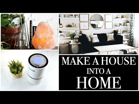 HOW TO MAKE A HOUSE INTO A HOME! || LEVIOT AIR PURIFIER - SALT LAMP REVIEW