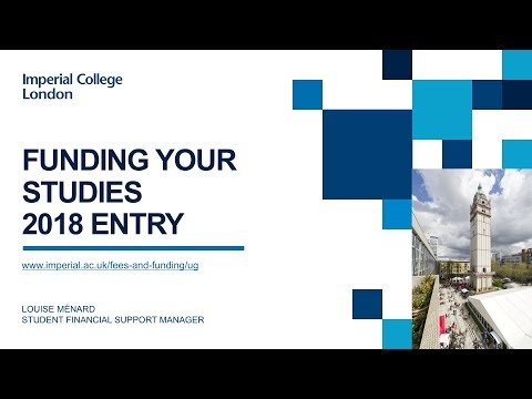 Funding Your Studies 2018 Entry|Undergraduate Open Days 2017