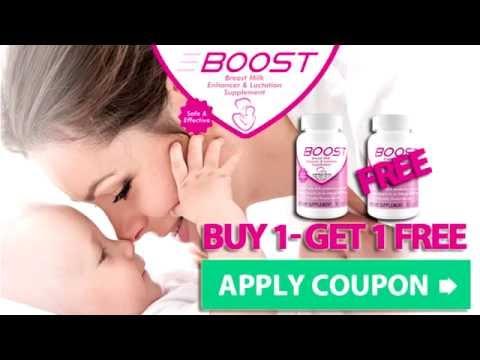 Boost Breast Milk Enhancer - increase breast milk after delivery!
