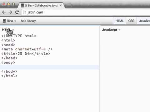 jsbin cheat code for line numbers