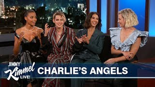 Charlie's Angels on Being Cast & Meeting Each Other