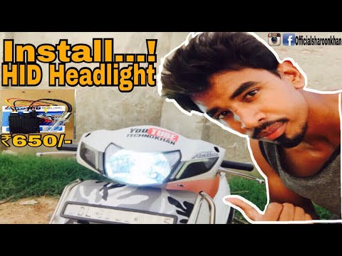 Which is Best HID Or LED || Review by Technokhan || Must watch