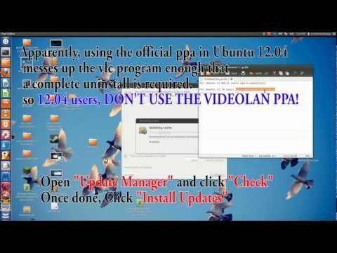 How to upgrade VLC to 2.0.2 and Enable it to play Blu-ray movies (Ubuntu)