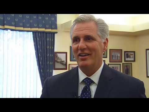 Rep. Kevin McCarthy on House speaker job
