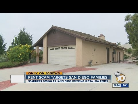 Rent scam targets San Diego families