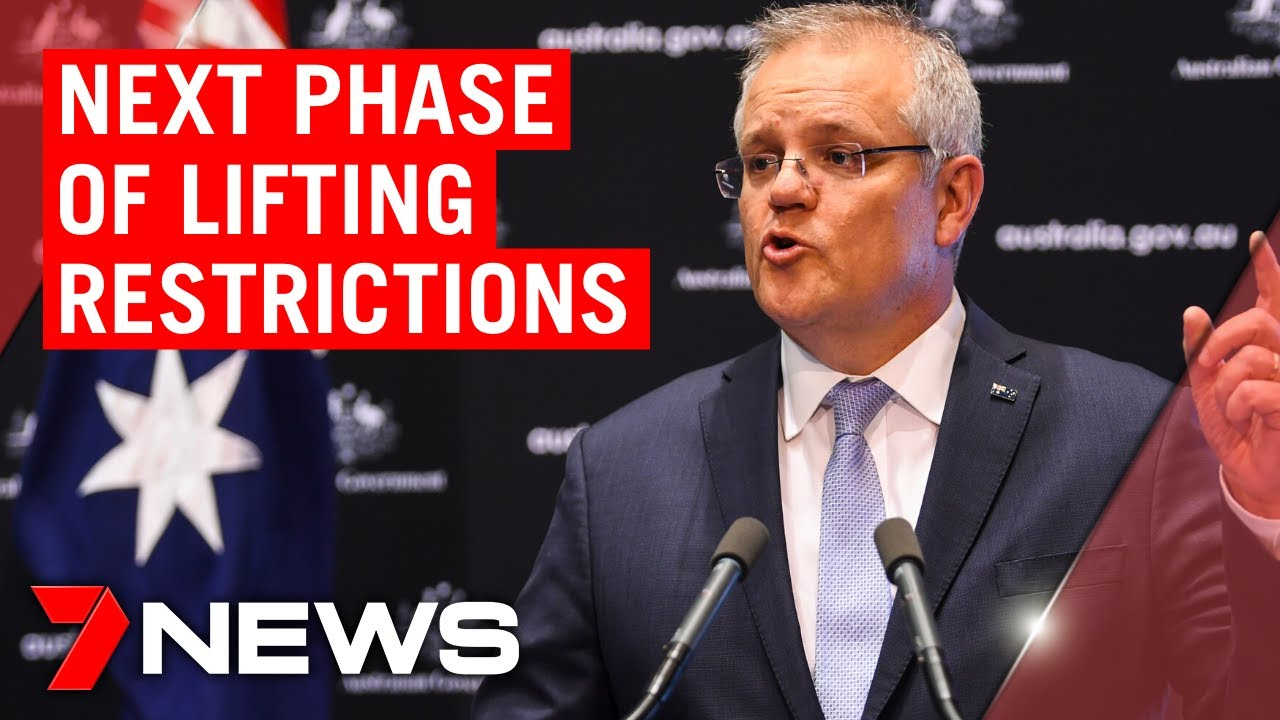 Coronavirus: PM reveals the next phase of restrictions lifting   7NEWS