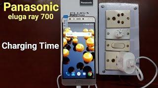 Panasonic Eluga Ray 700 Charging time