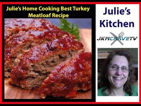How to make the Best Turkey Meatloaf | JKMCraveTV