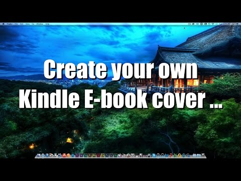 How To Create your own Kindle E-Book Cover with Photoshop