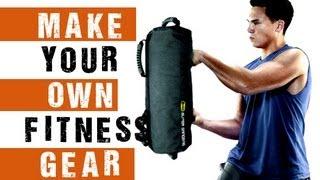 How to Make Your Own Home Fitness Equipment ( Sandbag )