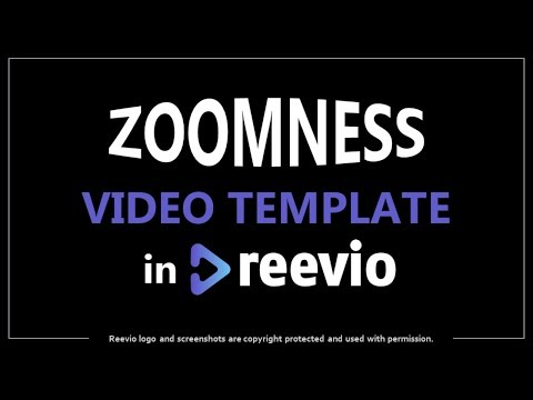 Zoomness Video Template Preview in Reevio