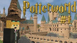 Welcome To Hogwarts! - Potterworldmc Server Ep. 1 (harry Potter Minecraft Server)