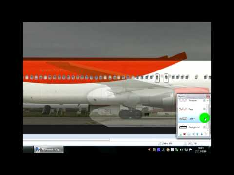 Repainting Real World Liveries
