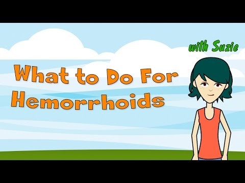 What to Do For Hemorrhoids - Tips on How to Deal With Internal and External Hemorrhoids