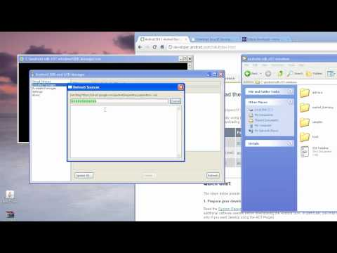 How to Install Android SDK + ADT into Eclipse IDE on Windows OS. (tutorial)