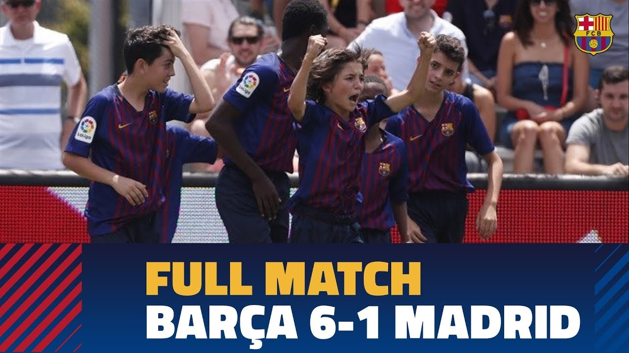 FULL MATCH   LaLiga Promises International 2019   FC Barcelona 6-1 Real Madrid