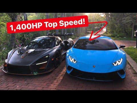 Testing TOP SPEED of 1,400HP Underground Racing TT Lamborghini