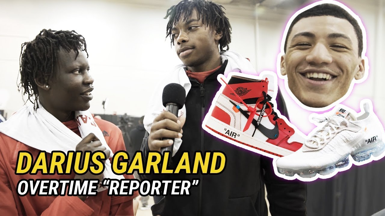 """""""How Many Girlfriends Do You Have?"""" Darius Garland Has NO CHILL With McDonald's All American 😂"""