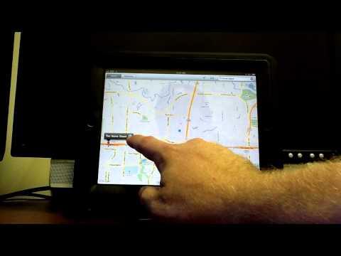 How to use GPS on iPad