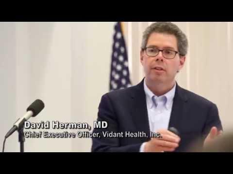 Vidant's Doctor Herman Presentation on Challenges of Rural Healthcare
